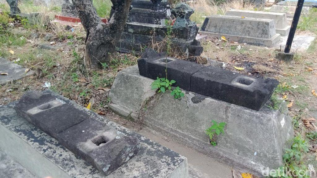 Nisan-nisan Makam di Klaten Dirusak, Polisi Turun Tangan