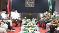 Sekjen Gerindra Temui Ketum PP Muhammadiyah, Bawa Pesan Prabowo