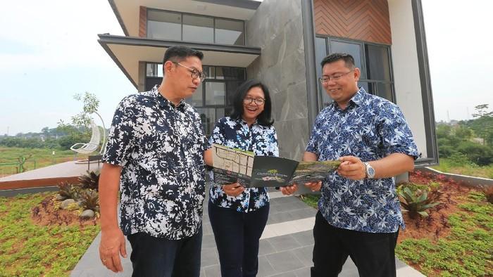 Konsep hunian sehat, bernuansa hijau dan modern diwujudkan GNA Group di kawasan Tangerang, Banten.