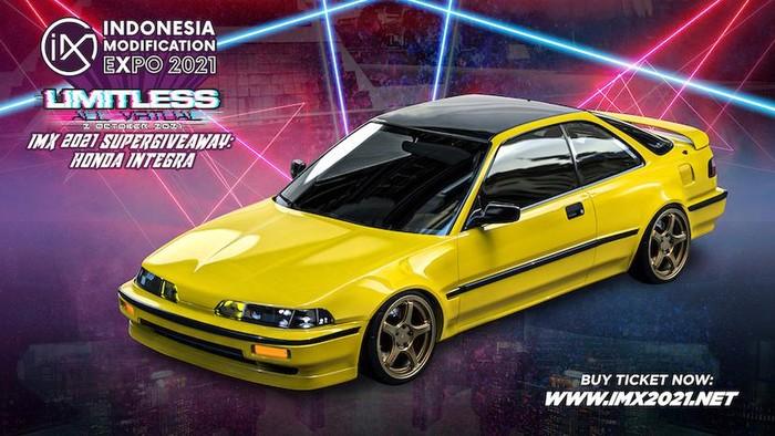 Supergiveaway Honda Integra DA5 di acara IMX 2021