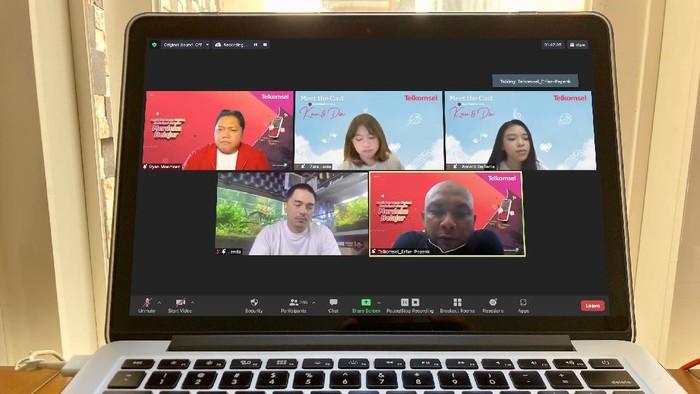 Telkomsel Hadirkan Anneth dan Zara Leola Berbagi Semangat pada Remaja