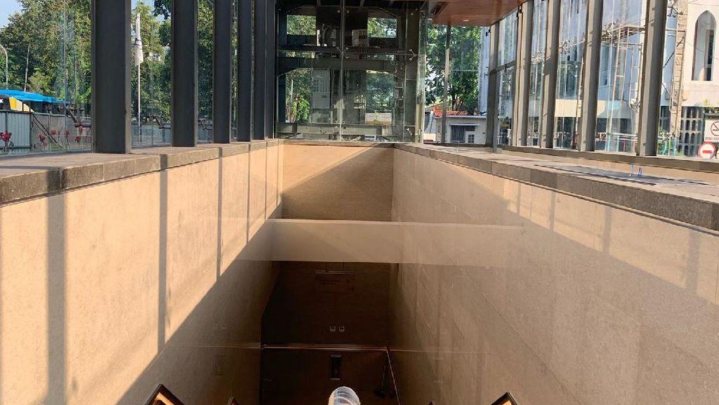 Terowongan Silaturahmi Rampung, Begini Penampakannya