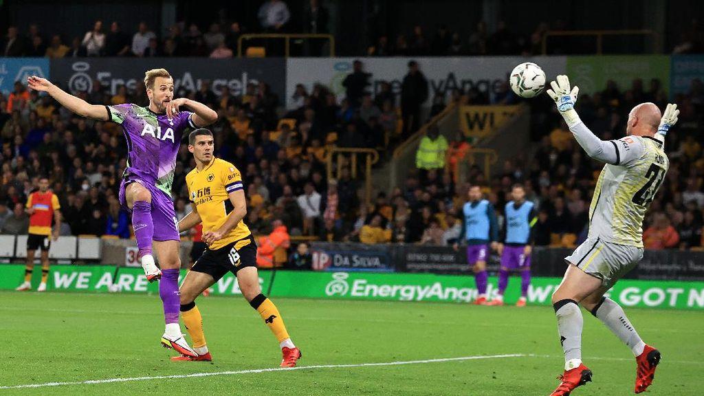Wolves Vs Tottenham: Harry Kane Cs Maju ke Babak Keempat