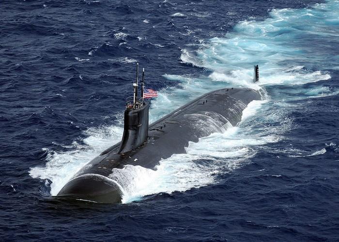 USS Connecticut, kapal selam nuklir milik Amerika Serikat