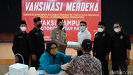 Semangat Vaksinasi COVID-19 di Sidoarjo untuk Capai Target 70 Persen