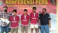 Polisi Tangkap 3 Penjual Senpi Rakitan ke Sindikat Curanmor Lampung