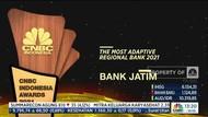 Terus Berinovasi, bankjatim Raih The Most Adaptive Regional Bank