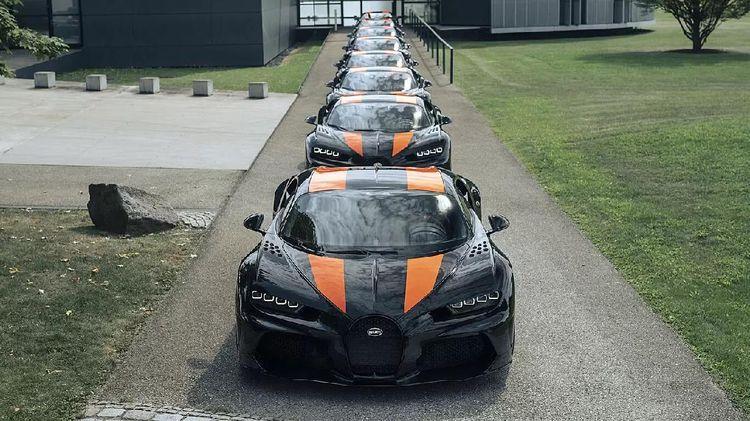Dijual Rp 58 M, Ini Mobil Bugatti Paling Kencang yang Sudah Ludes Terjual