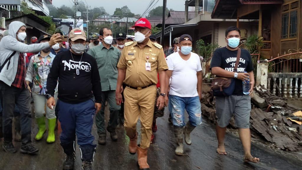 Banjir Bandang Terjang Mitra, Bupati Larang Galang Dana Sumbangan di Jalan
