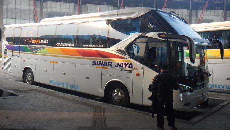 Ini Bus Sinar Jaya yang Dites 143 Km/Jam di Trans Jawa Tanpa Kepanasan