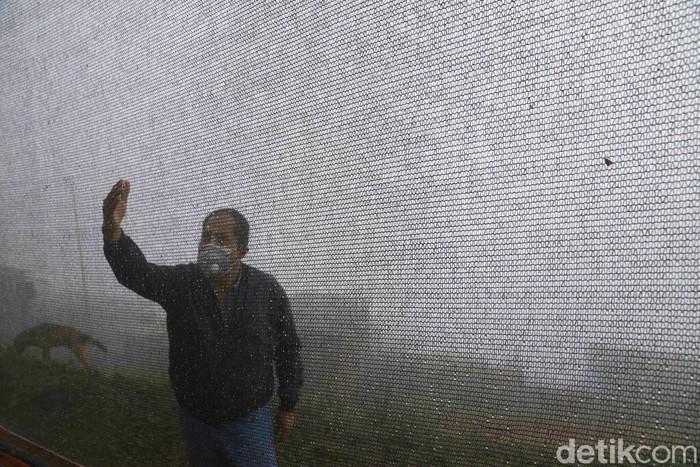 Warga desa di Pegunungan Pamplona Alta, Lima, Peru punya cara cerdik untuk mengatasi kekeringan. Mereka memanfaatkan waring untuk mengubah kabut pegunungan menjadi sumber mata air.