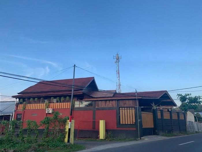 Rumah viral di Lombok. Foto: Dok. pribadi Qorry.