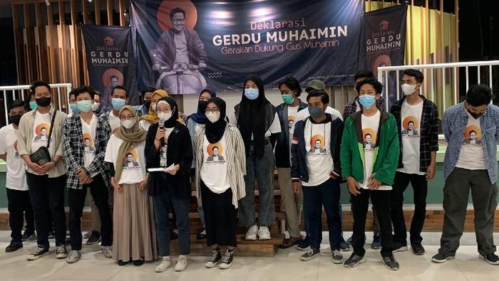 Gerakan Milenial di Surabaya Deklarasi Dukung Muhaimin Iskandar Capres 2024