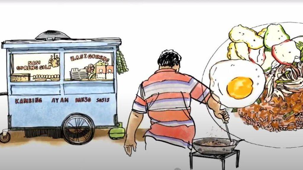 Google Gandeng Ilustrator Lokal Garap Kisah Digital Kuliner Indonesia