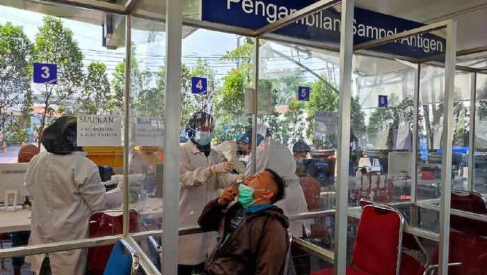 Harga Tes Antigen di Seluruh Stasiun Turun Jadi Rp 45 Ribu (Nahda Rizki-detikcom)