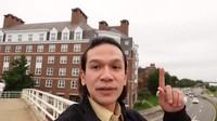 Jordi Onsu Asyik Kulineran Sekitar Harvard Business School