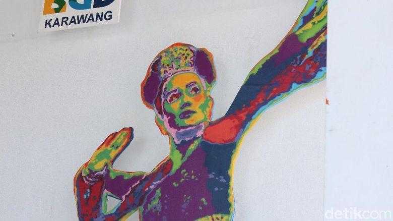 Ikon pariwisata Karawang.