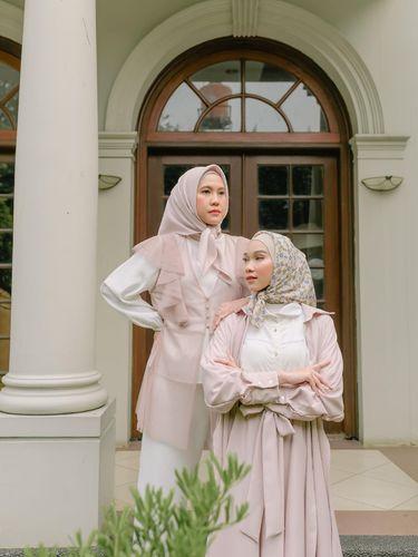 Koleksi 'Fiore' hasil kolaborasi dari HijabChic dan Thatal Jundiah.