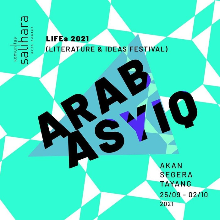 Komunitas Salihaira Gelar LIFEs 2021 (Literature and Ideas Festival)
