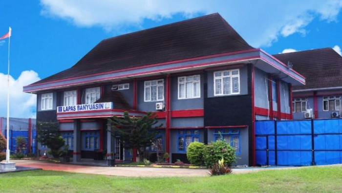 Lembaga Pemasyarakatan Klas IIA Kabupaten Banyuasin, Sumatera Selatan (ANTARA/HO)