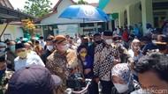 Kala Ganjar-Airlangga Jawab Isu Pilpres di Kompleks Makam Keramat Klaten
