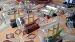 Mantap! Miniatur Kapal Made in Klaten Ini Tembus Pasar AS-Eropa