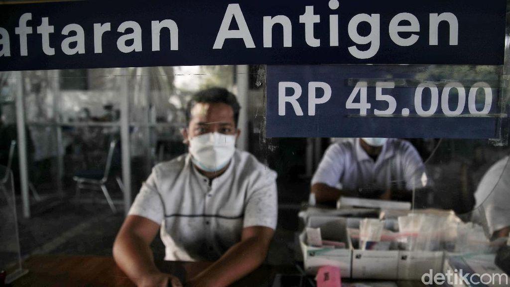 Asik, Mulai Hari Ini Tes Antigen di Stasiun Gambir Rp 45 Ribu