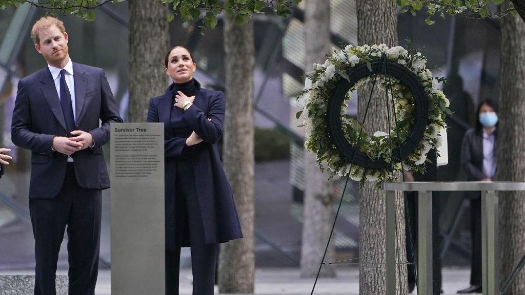 Gaya Meghan Markle di Monumen 9/11 Jadi Sorotan, Disebut Salah Kostum