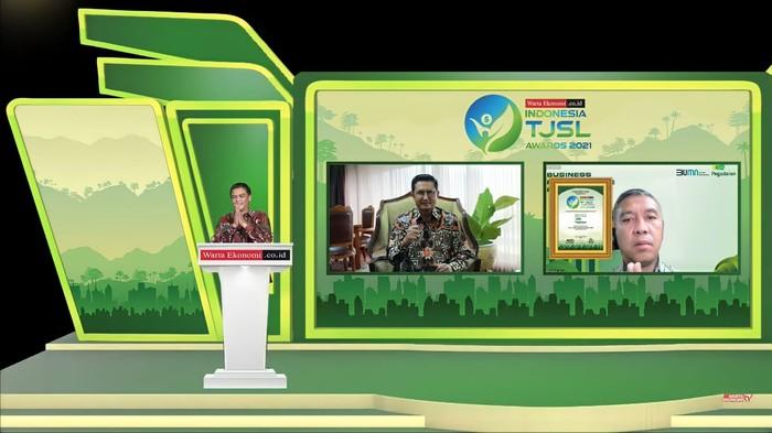 Pegadaian Diganjar Penghargaan Tanggung Jawab Sosial dan Lingkungan
