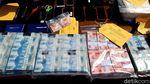 Tumpukan Uang Palsu Nyaris Setengah Miliar di Boyolali yang Disita
