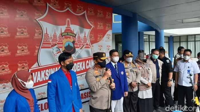 Persiapkan Kuliah Tatap Muka, 26 Ribu Mahasiswa di Jawa Tengah Divaksin