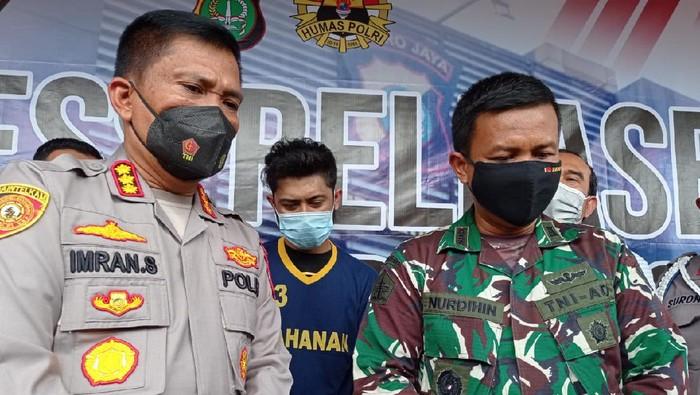 Polisi tangkap pria pembunuh anggota TNI di Cimanggis, Depok