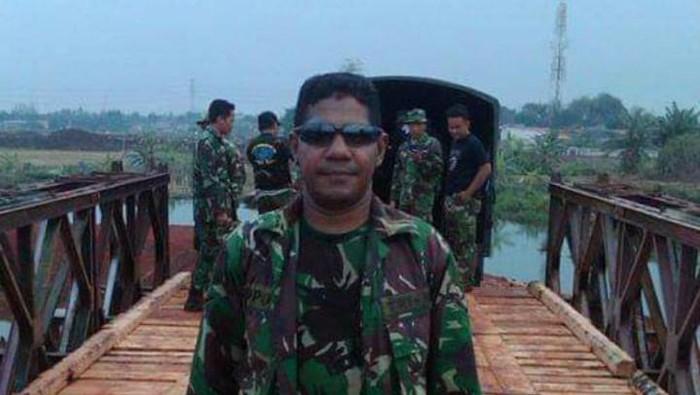 Sertu Yorhan Lopo, anggota TNI yang tewas dibunuh di Depok