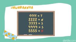 Teka-teki berikut akan menguji logika berpikir kamu. Bagi pemilik otak encer teka-teki seperti ini harusnya bisa dikerjakan kurang dari satu menit.