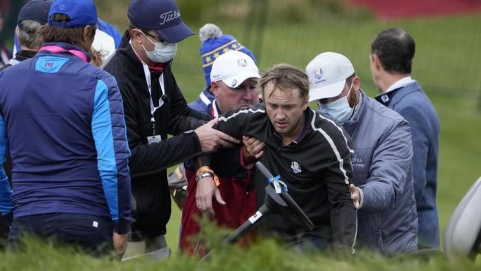 Tom Felton kolaps di lapangan golf