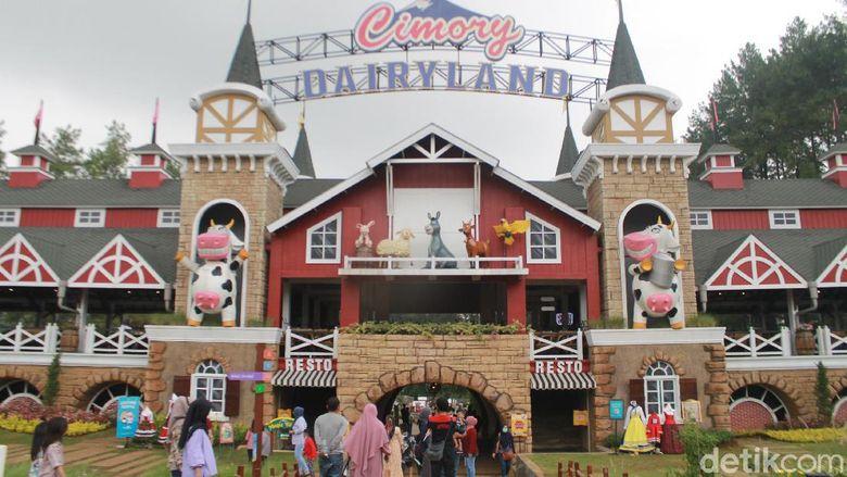 Cimory Dairyland di Puncak, Bogor