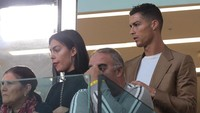 Ibunda Ronaldo: Saya Baik-baik Saja dengan Georgina kok