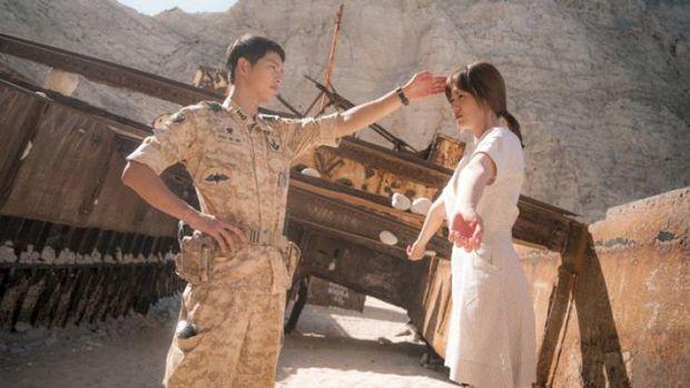 Descendants of the Sun dibintangi Song Joong Ki dan Song Hye Kyo