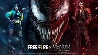 Free Fire X Film Venom: Let There Be Carnage Hadirkan Skin Eksklusif