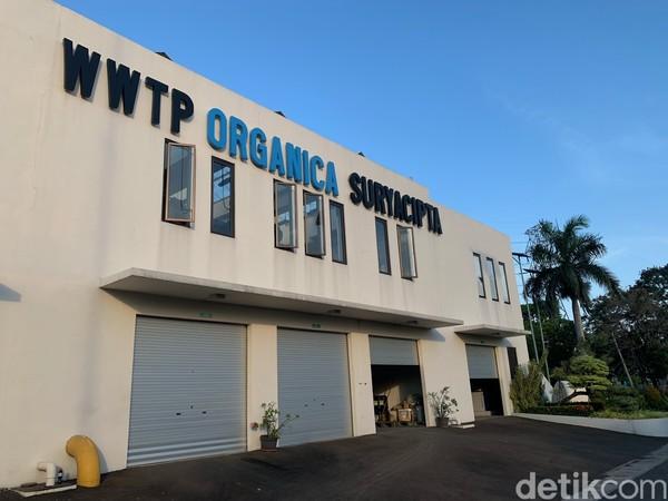Lokasi IPAL ini dinamai Wastewater Treatment Plant (WWTP) Organica berada di Kawasan Industri Surya Cipta dan berfungsi sebagai fasilitas pengelolaan air limbah terpadu.