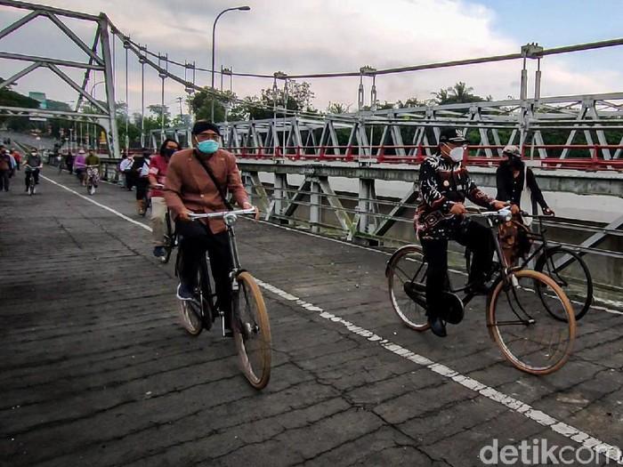 Jembatan Bantar, lokasi pertempuran tentara Indonesia melawan Belanda pada medio 1948-1949, Jumat (25/9/2021).