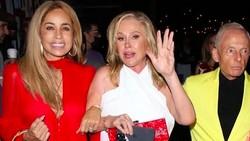Saat Ibu-ibu Crazy Rich Pakai Baju Taplak Meja ke Restoran Mewah