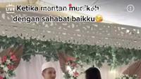 Viral Wanita Ini Datang ke Nikahan Mantan yang Nikah dengan Sahabatnya