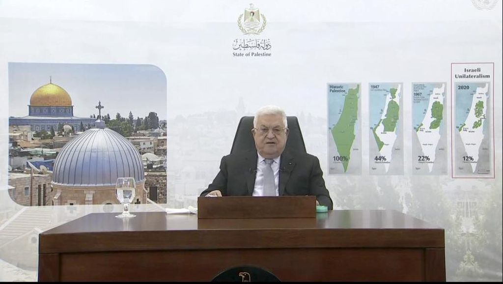 Abbas Ultimatum Israel untuk Keluar dari Wilayah Palestina
