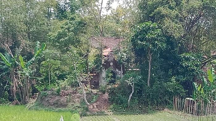 Makam Mbah Kutut Klaten, Sabtu (25/9/2021).