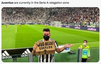 Meme Juventus Kacau Balau Ditinggal Ronaldo