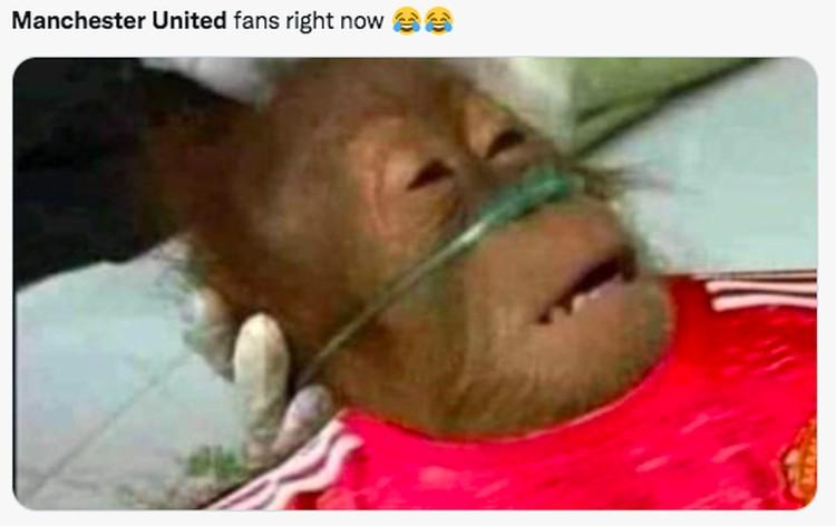 Meme Manchester United Kalah Lawan Aston Villa