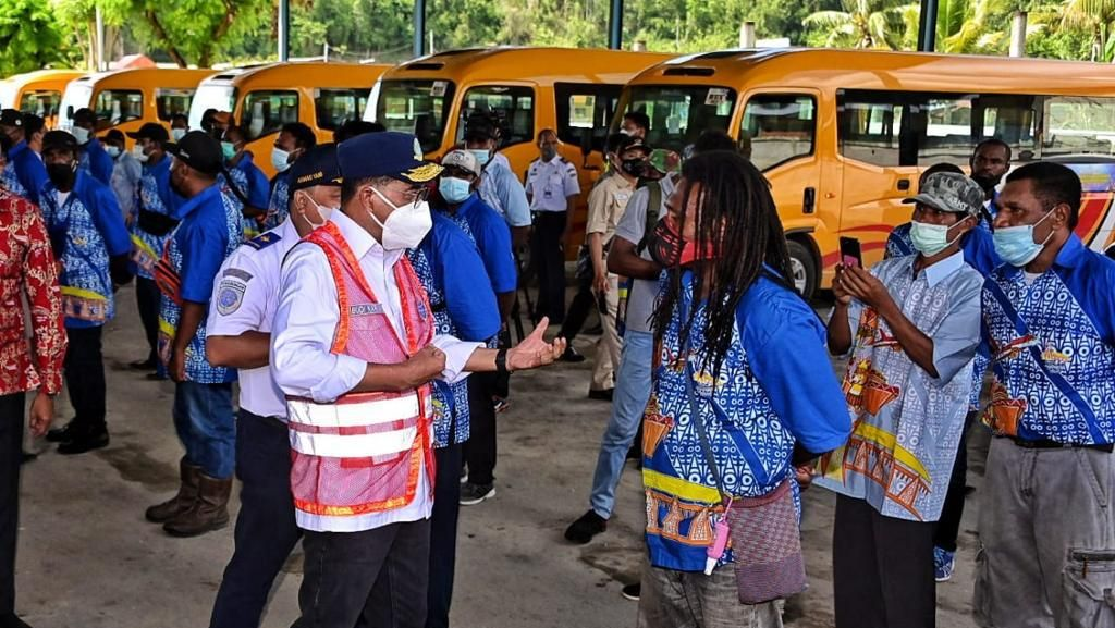 428 Bus hingga 5 Kapal Pelni Disiapkan buat Sukseskan PON XX Papua