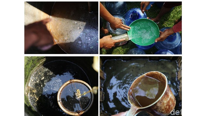 Bagi sebagian warga Kampung Kedung Ringin, Sukawangi, Kabupaten Bekasi, air bersih merupakan barang mewah. Krisis air bersih berlangsung selama bertahun-tahun.