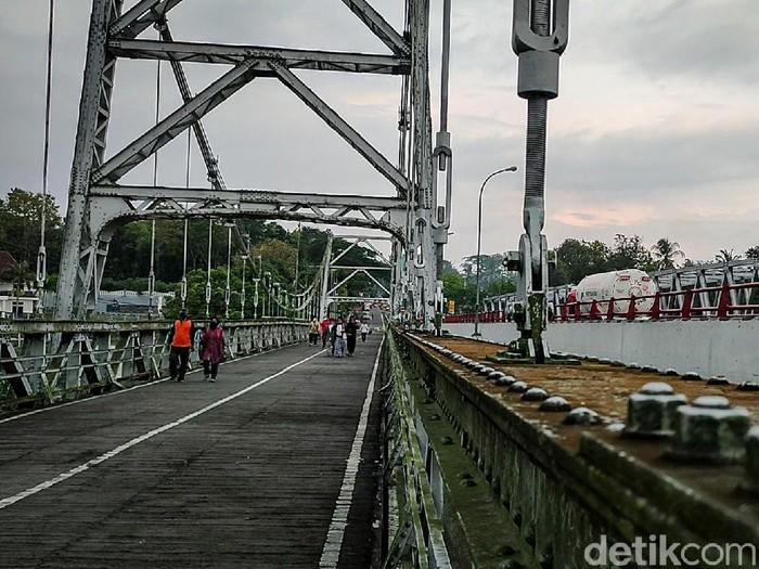 Museum Mini Sejarah Jembatan Bantar, Kulon Progo, Sabtu (25/9/2021).